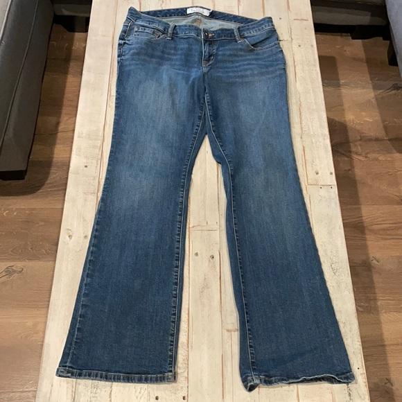 EUC Torrid Bootcut Jeans 12R